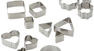 Outils Fimo de base : emporte pièces