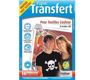 Transfert image Fimo avec papier transfert