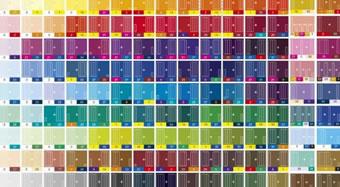 Les différentes couleurs Fimo