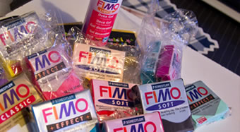 Les différentes pâtes Fimo