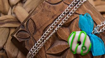 Montage en bijou des créations Fimo
