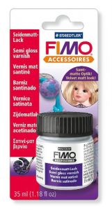 Vernis Fimo Mat Satiné – Flacon 35 ml