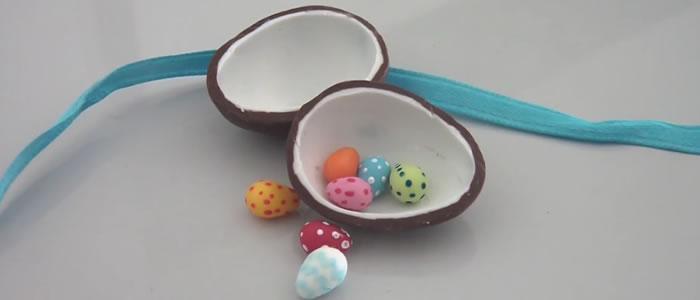 Tuto Fimo oeufs surprise (Pâques) –  Faire des oeufs de Pâques surprise en pâte Fimo