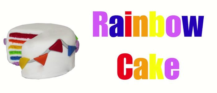 Tuto Fimo rainbow cake – Faire un rainbow cake en pâte Fimo