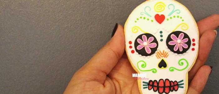 Tuto Fimo cookie Dia De Los Muertos – Faire un cookie Dia De Los Muertos en pâte Fimo