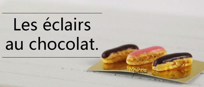 Tuto Fimo éclair chocolat – Faire des éclairs au chocolat en pâte Fimo