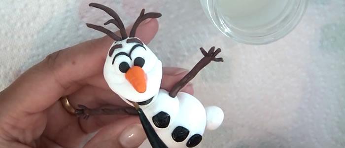 Tuto Fimo OLAF (reine des neiges) – Faire OLAF en pâte Fimo