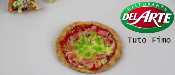 Tuto Fimo pizza Del Arte – Faire une pizza en pâte Fimo