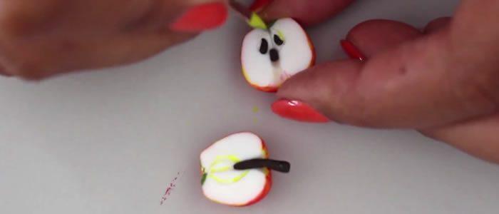 Tuto Fimo pommes – Faire une pomme en pâte Fimo