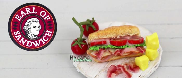 Tuto Fimo sandwich (Earl Of) – Faire un sandwich en pâte Fimo