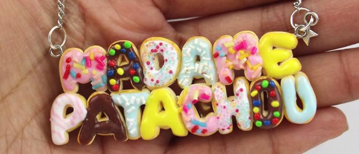 Tuto Fimo Collier Donuts – Faire un Collier Donuts en pâte Fimo