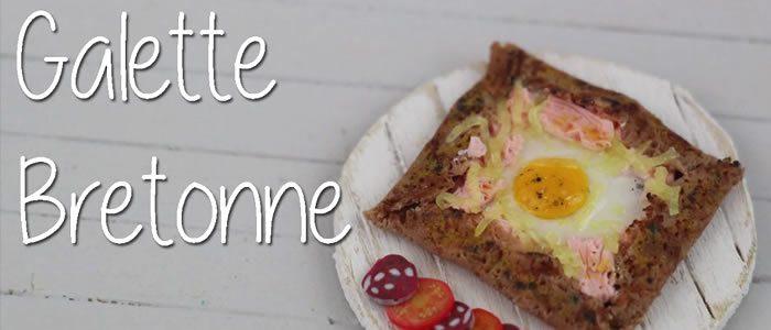 Tuto Fimo galette Bretonne – Faire une galette Bretonne en pâte Fimo