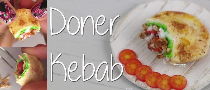 Tuto Fimo kebab – Faire un kebab en pâte Fimo