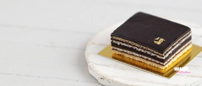Tuto Fimo Opéra – Faire un gâteau Opéra en pâte Fimo