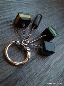 Porte-clés Fimo 02