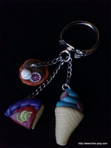 Porte-clés Fimo 03