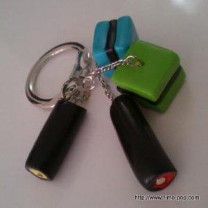 Porte-clés Fimo 05