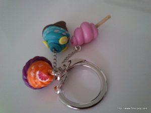 Porte-clés Fimo 06