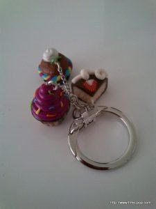 Porte-clés Fimo 08