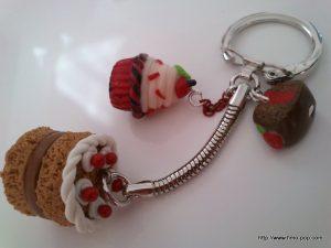 Porte-clés Fimo 09