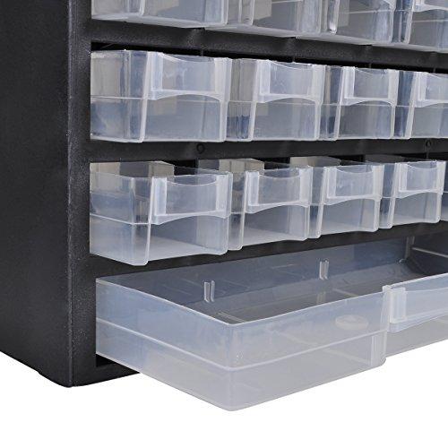 Rangement Fimo - Armoire verticale avec 41 tiroirs
