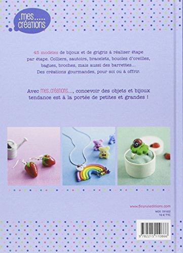 Livre Fimo - Bijoux en pâte Fimo de Carine Le Guilloux