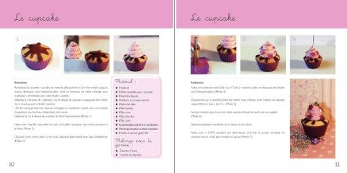 Livre Fimo - Les Bijoux tout en gourmandise de Lilli Prune : créations en pâte polymère