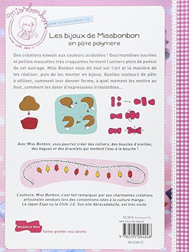 Livre Fimo – Les bijoux de Miss Bonbon en pâte polymère de Miss Bonbon