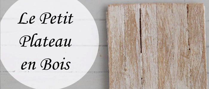Tuto Fimo petit plateau bois – Faire un petit plateau bois en pâte Fimo