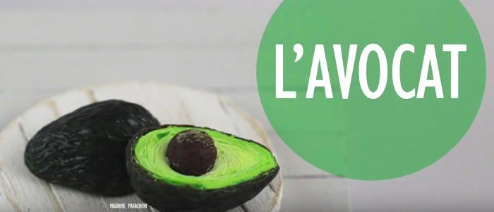 Tuto Fimo avocat – Faire un avocat en pâte Fimo