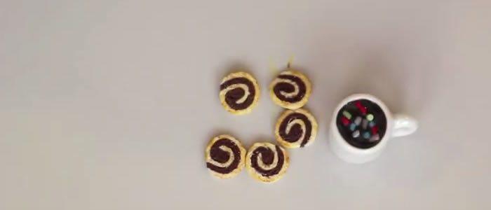 Tuto Fimo biscuit spirale – Faire un biscuit spirale en pâte Fimo