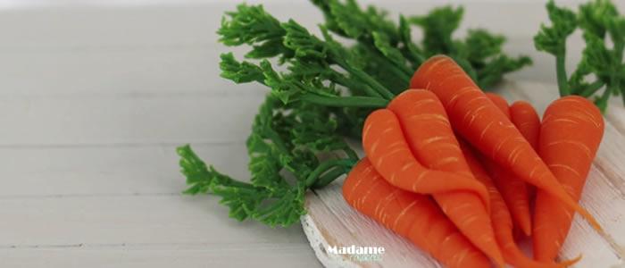 Tuto Fimo carottes – Faire des carottes en pâte Fimo