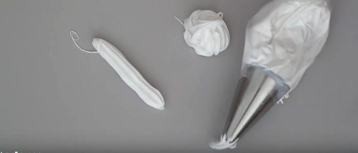 Tuto Fimo chantilly et glaçage – Faire une chantilly et glaçage en pâte Fimo