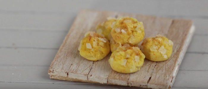 Tuto Fimo chouquettes – Faire des chouquettes en pâte Fimo