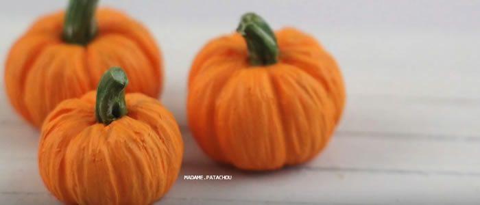 Tuto Fimo citrouilles (Halloween) – Faire des citrouilles en pâte Fimo