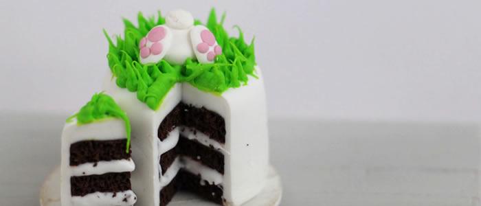 Tuto Fimo gâteau (Pâques) – Faire un gâteau de Pâques en pâte Fimo