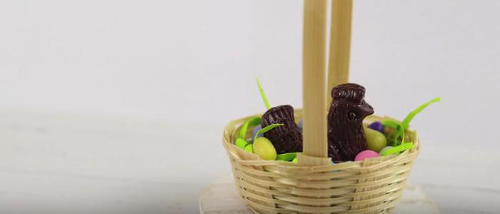 Tuto Fimo panier (Pâques) – Faire un panier de Pâques en pâte Fimo
