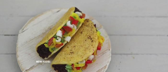 Tuto Fimo tacos – Faire des tacos en pâte Fimo