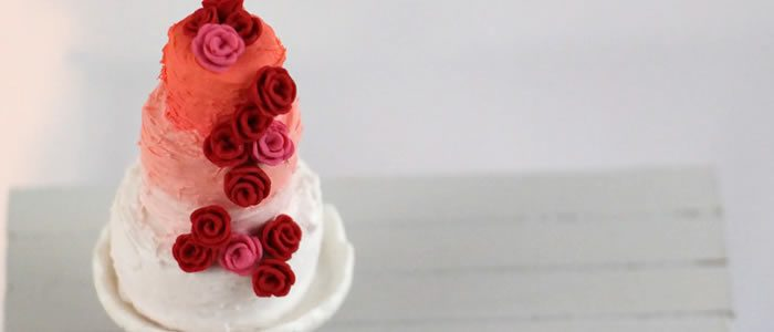 Tuto Fimo wedding cake (gâteau mariage) – Faire un wedding cake (gâteau mariage) en pâte Fimo