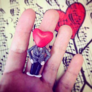 Flora-D - Heartman Fimo