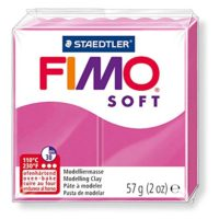Pain de pâte Fimo Soft 57g Rose Framboise n°22
