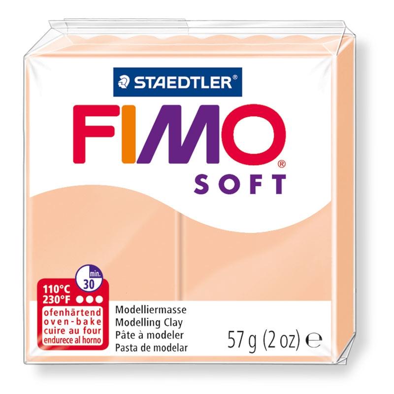 Pain de pâte Fimo Soft 57g Chair Clair n°43