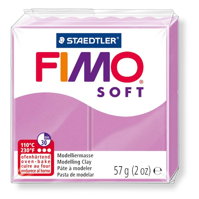 Pain de pâte Fimo Soft 57g Lavande n°62