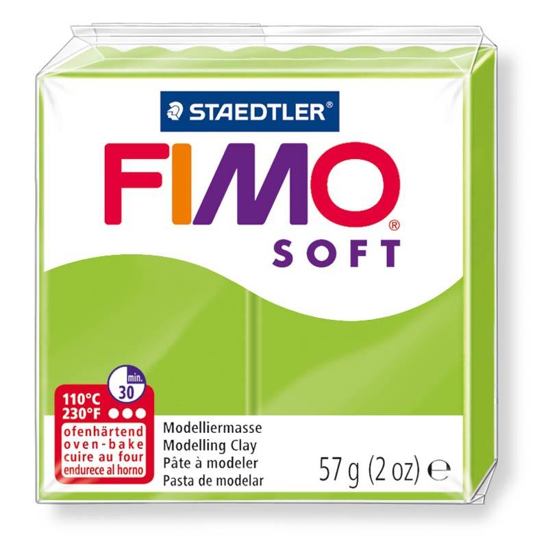 Pain de pâte Fimo Soft 57g Vert Pomme n°50
