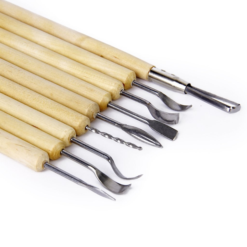 Set 11 outils sculpture carving set