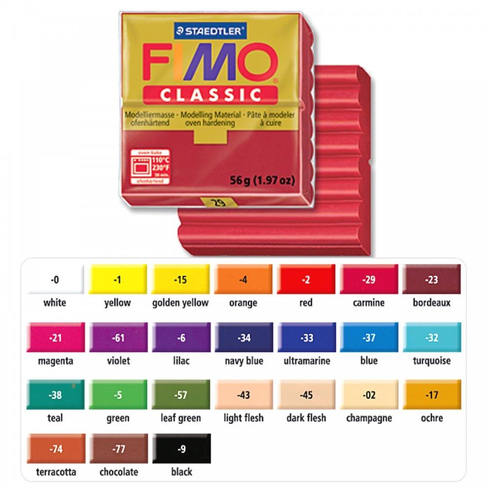 Pâte FIMO CLASSIC